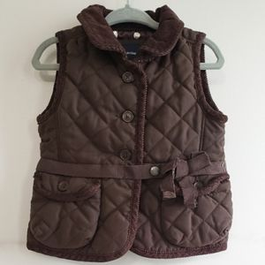 Baby Gap Equestrian Quilted Vest